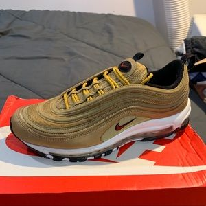 Metallic Gold Air Max 97's